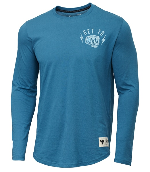 UNDER ARMOUR Project Rock Get To Work Long sleeve