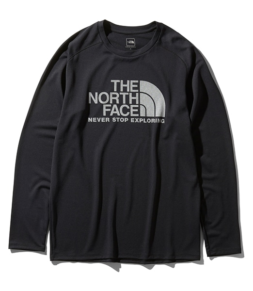 THE NORTH FACE L/S GTD Logo Crew