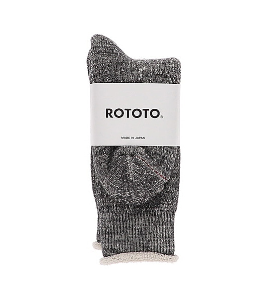 ROTOTO Double Face Crew Socks