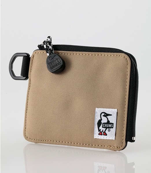 CHUMS Recycle L-Shaped Zip Wallet