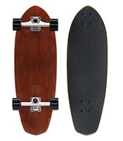 WOODY PRESS SKATEBOARD Carving 28inch