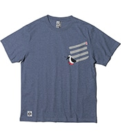 CHUMS Booby Carry Pocket T-Shirt 2020SS