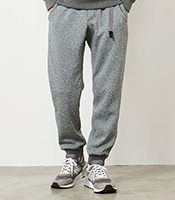 GRAMICCI Bonding Knit Fleece Narrow Rib Pants