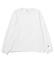 CHAMPION T1011 Long Sleeve Pocket Tee 【Made in USA】