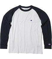 CHAMPION Raglan Long Sleeve T-shits