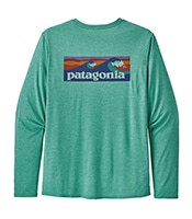 PATAGONIA LS Capilene Cool Daily Graphic Shirts 2020SS
