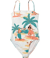 ROXY Pt Beach Classics Fa One Piece