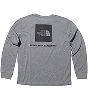 THE NORTH FACE L/S Back Square Logo Tee NTW82035