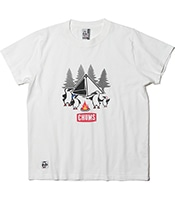 CHUMS Booby's Family Camp T-Shirt 【OSHMAN'S別注】 2020SS