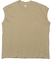 DANTON No Sleeve Pocket T-Shirts 2020SS