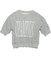 CHAMPION Half Sleeve Crewneck Sweatshirt 2020SS