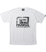 REVERSAL Palm Reef Big Mark Dry Mesh Tee 【OSHMAN'S別注】 2020SS