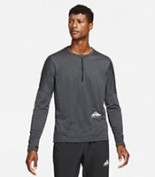 NIKE DRI-FIT Element Trail Half Zip Long Sleeve Top