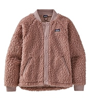 PATAGONIA Girls' Retro-X Fleece Bomber Jacket 65415