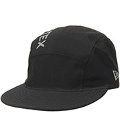 NEW ERA Jet Cap  Gore-Tex Paclite Side Logo Black x Reflector Print