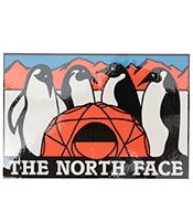 THE NORTH FACE TNF Print sticker AT