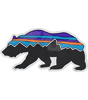 PATAGONIA Fitroy Bear Sticker