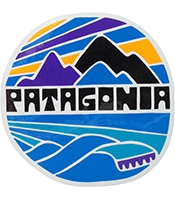 PATAGONIA Fitroy Rights Sticker