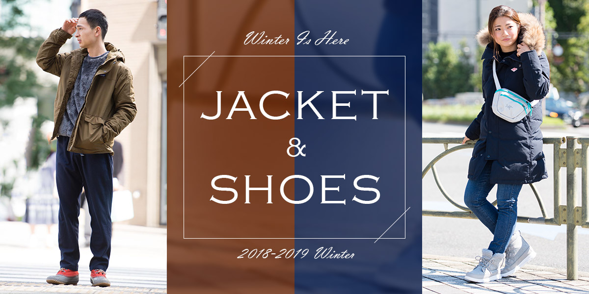 JACKET&SHOES 2018-2019 Winter
